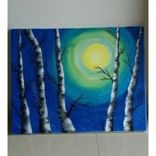 ภาพวาด ภาพแขวน ภาพวาดตกแต่ง ของแต่งบ้าน ภาพสีอะคลิลิค