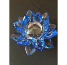 ดอกบัวคริสตัลสีน้ำเงิน ของชำร่วยของแต่งบ้าน ของขวัญที่ดีที่สุดสำหรับงานแต่งาน